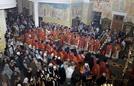 Торжественное Архиерейское богослужение семи Преосвященных Архипастырей в день памяти Святой Великомученицы Екатерины.