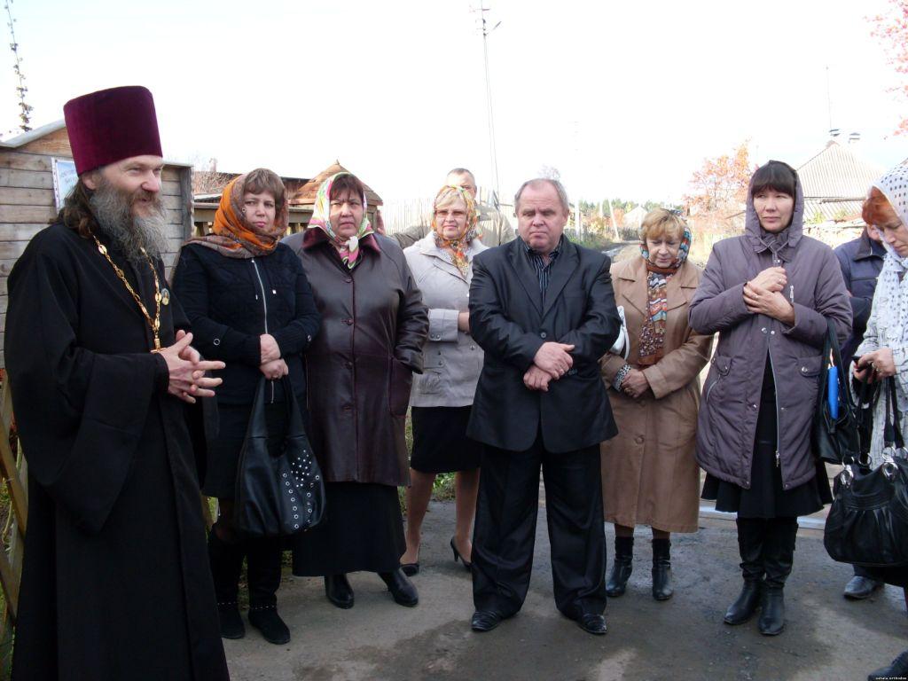Директора районных школ посетили юшалинский храм