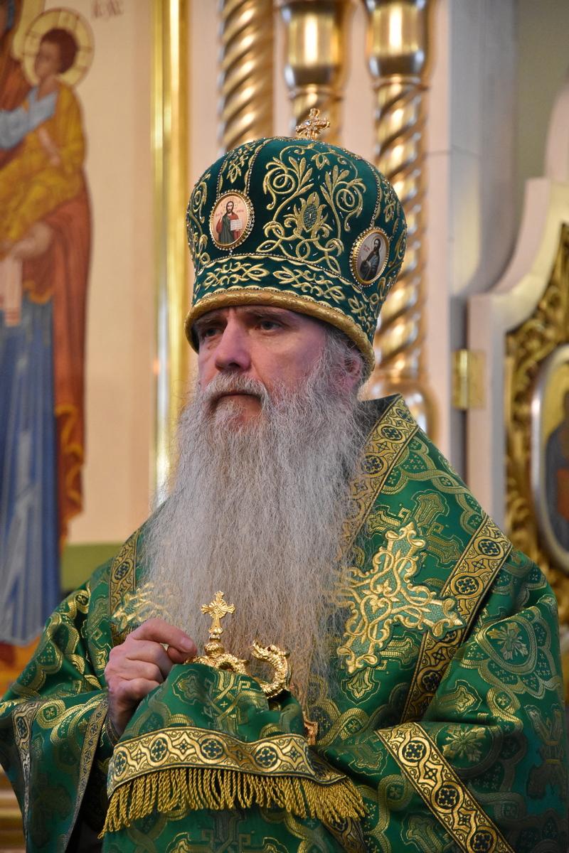 Поздравляем епископа Каменского и Камышловского Мефодия с днём тезоименитства