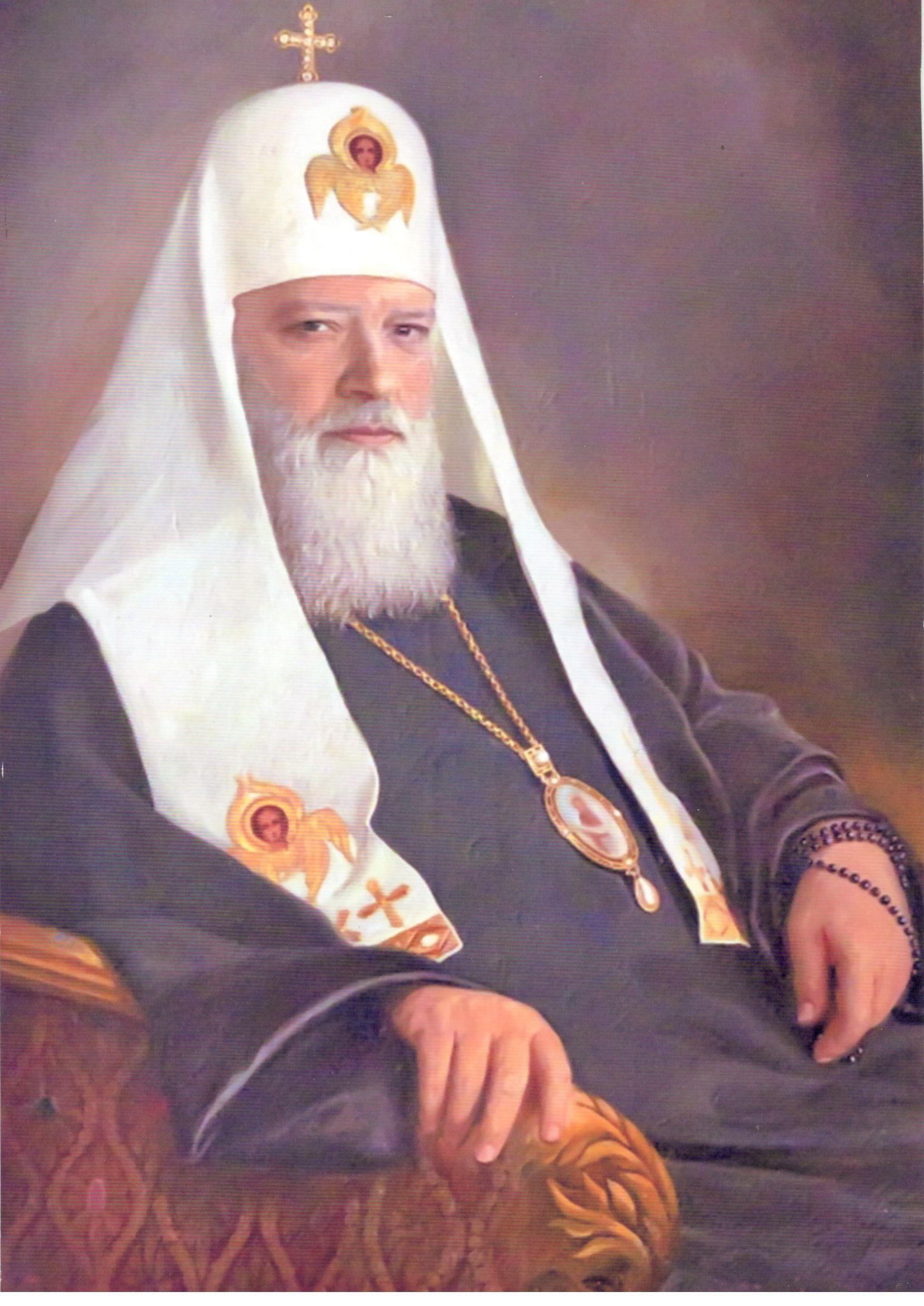 Митрополит Ленинградский Алексий I (Симанский)