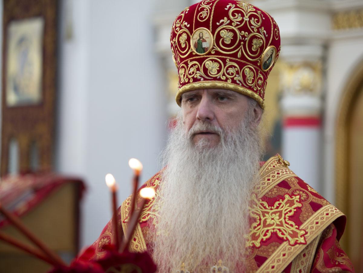 Литургия в преполовение Пятидесятницы (репортаж)