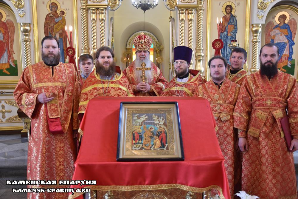 Литургия в день отдания праздника Пасхи (репортаж ТК «Союз»)