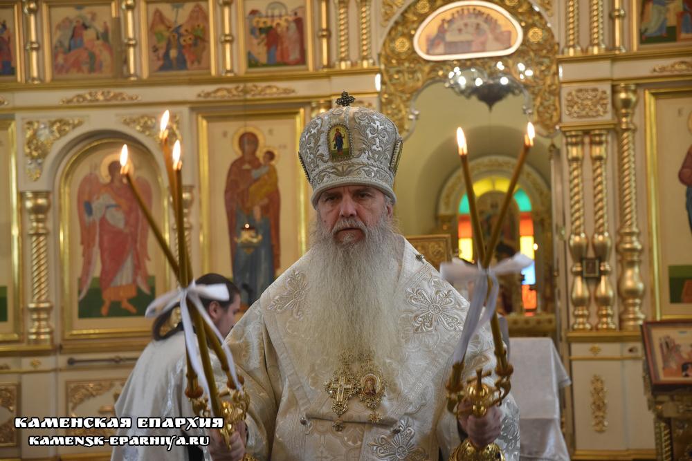 Литургия в праздник Вознесения Господня состоялась в кафедральном соборе епархии