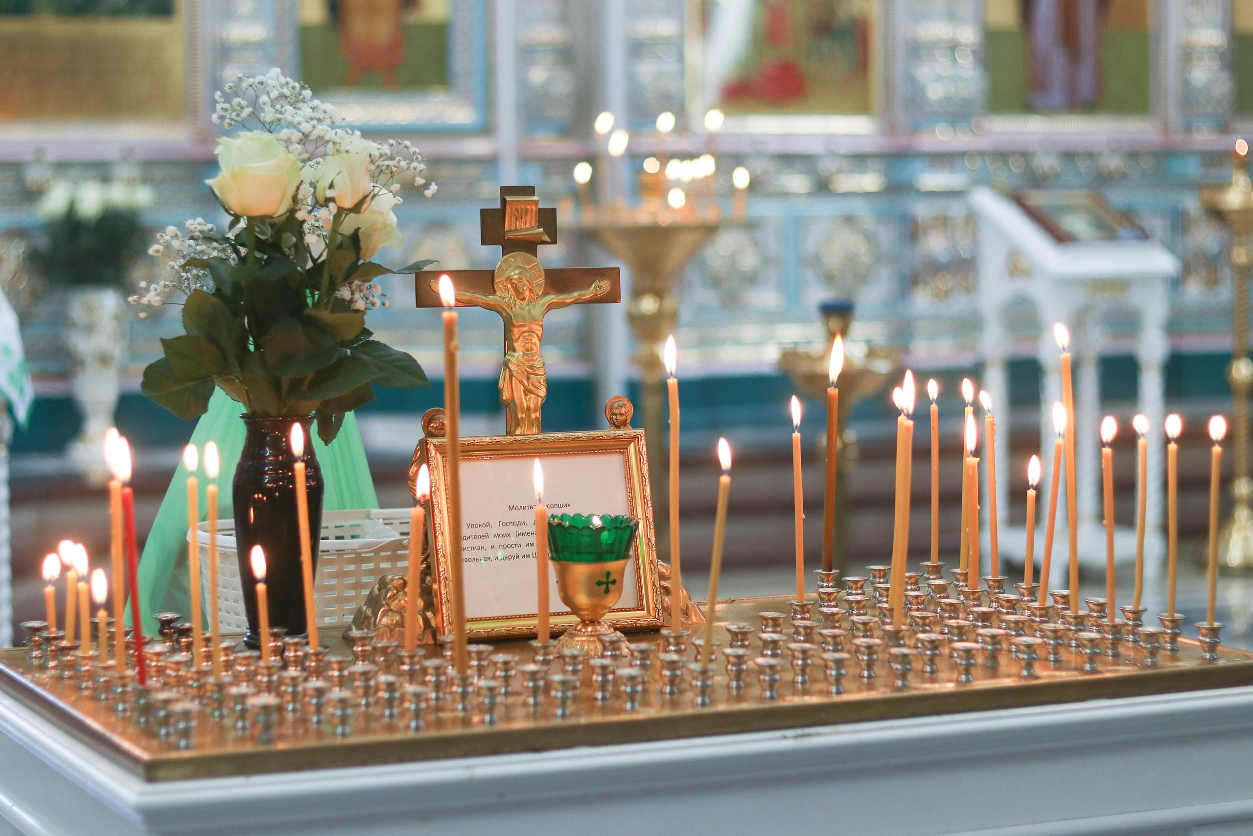 Троицкая родительская суббота в храме Покрова Божией Матери (г. Заречный)