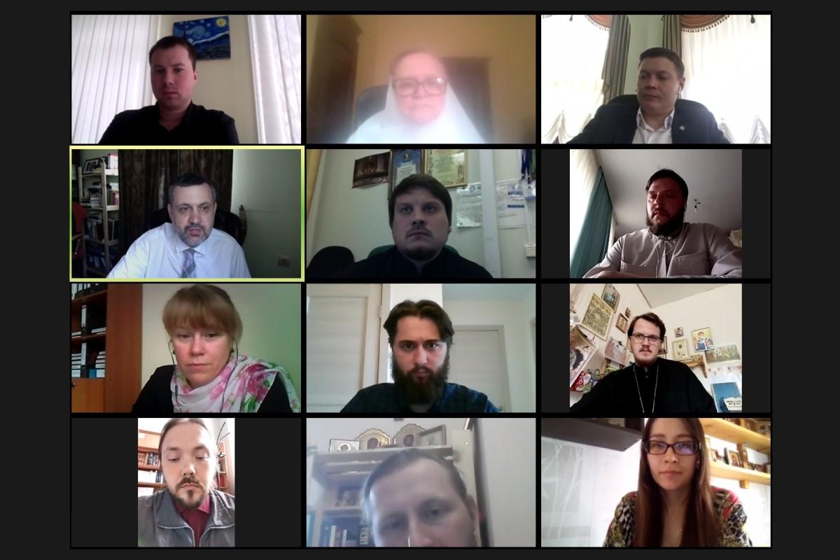 В.Р. Легойда провел онлайн-совещание с представителями епархий Уральского федерального округа
