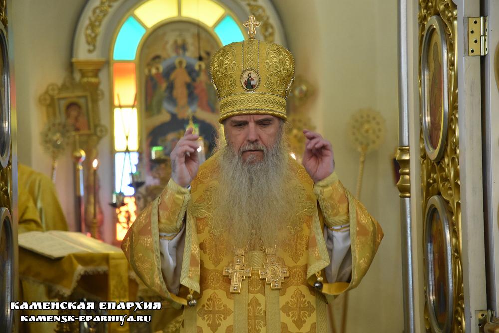 Владыка Мефодий возглавил Литургию иерейским чином