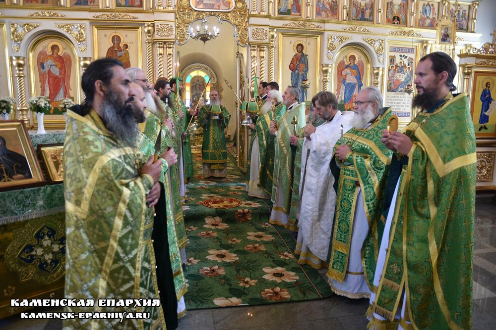День Каменской епархии (Репортаж ТК «Союз»)