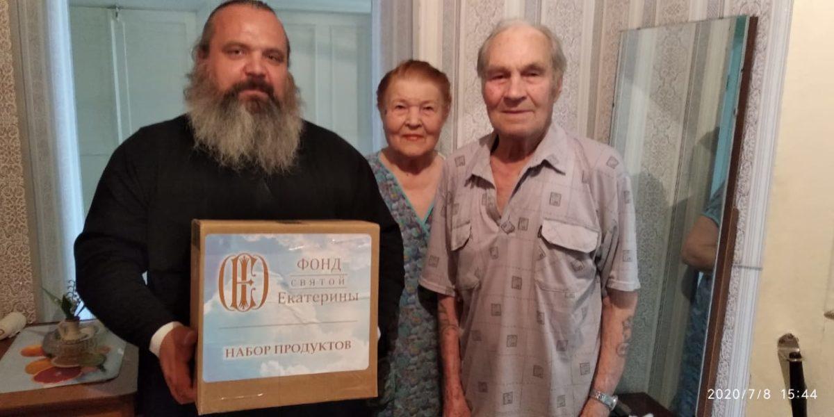 В День Каменской епархии поздравили пожилых прихожан