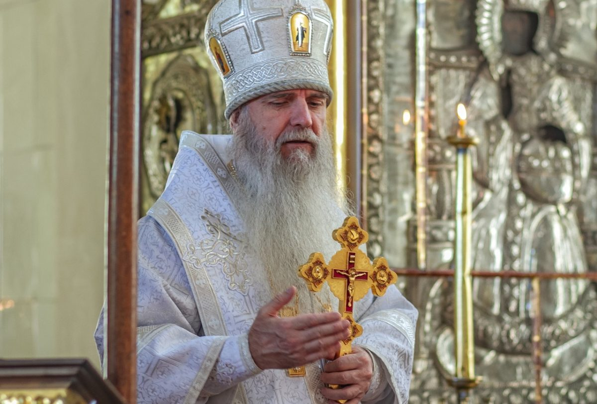 Владыка Мефодий возглавил Литургию в Георгиевском