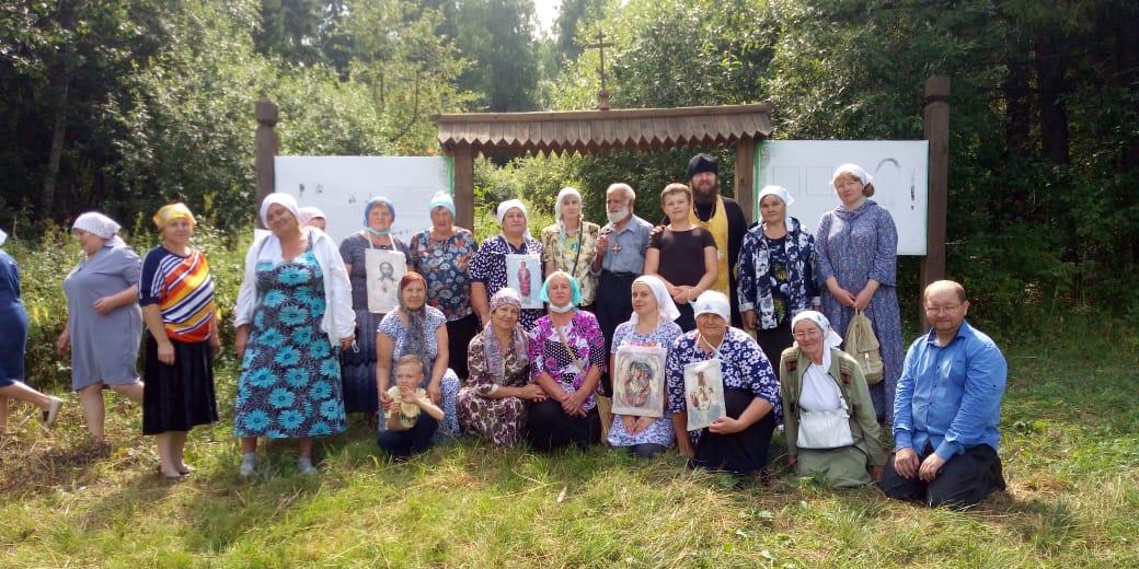 Серафимо-Ильинский крестный ход   прошел по  талицкой земле