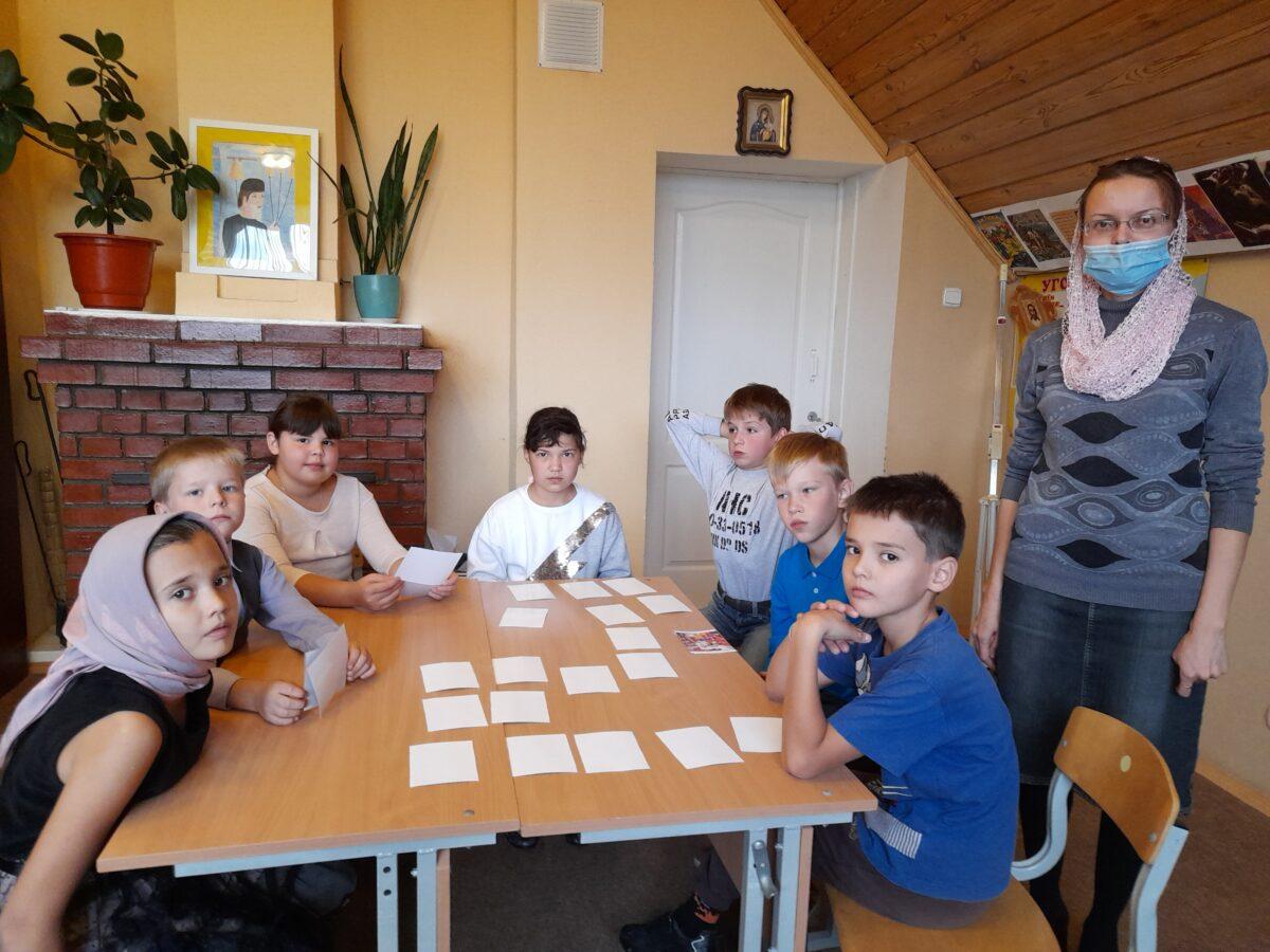 Дети познают основы православия