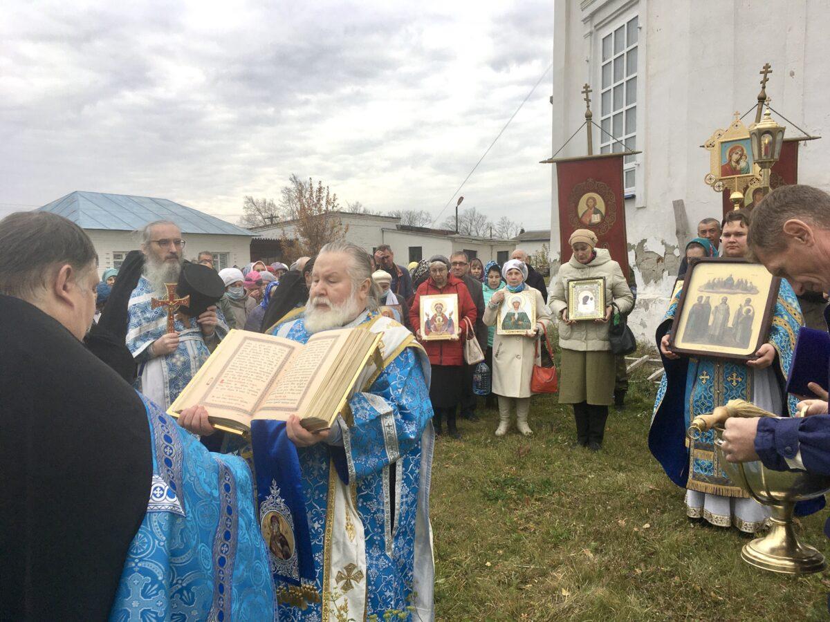 Престольный праздник в камышловском кафедральном соборе
