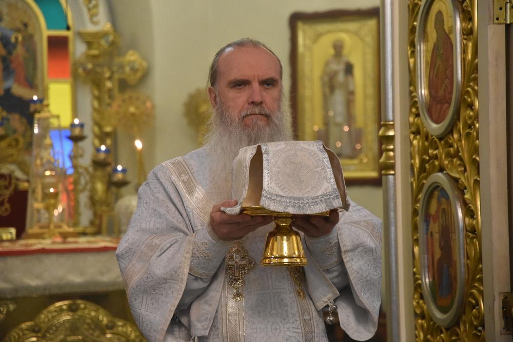 Владыка Мефодий совершил заупокойную Литургию в Дмитриевскую родительскую субботу
