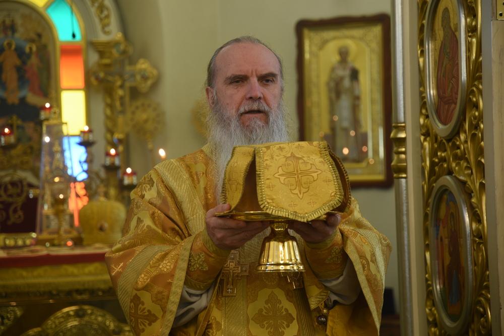 Владыка Мефодий совершил Литургию в неделю 23-ю по Пятидесятнице