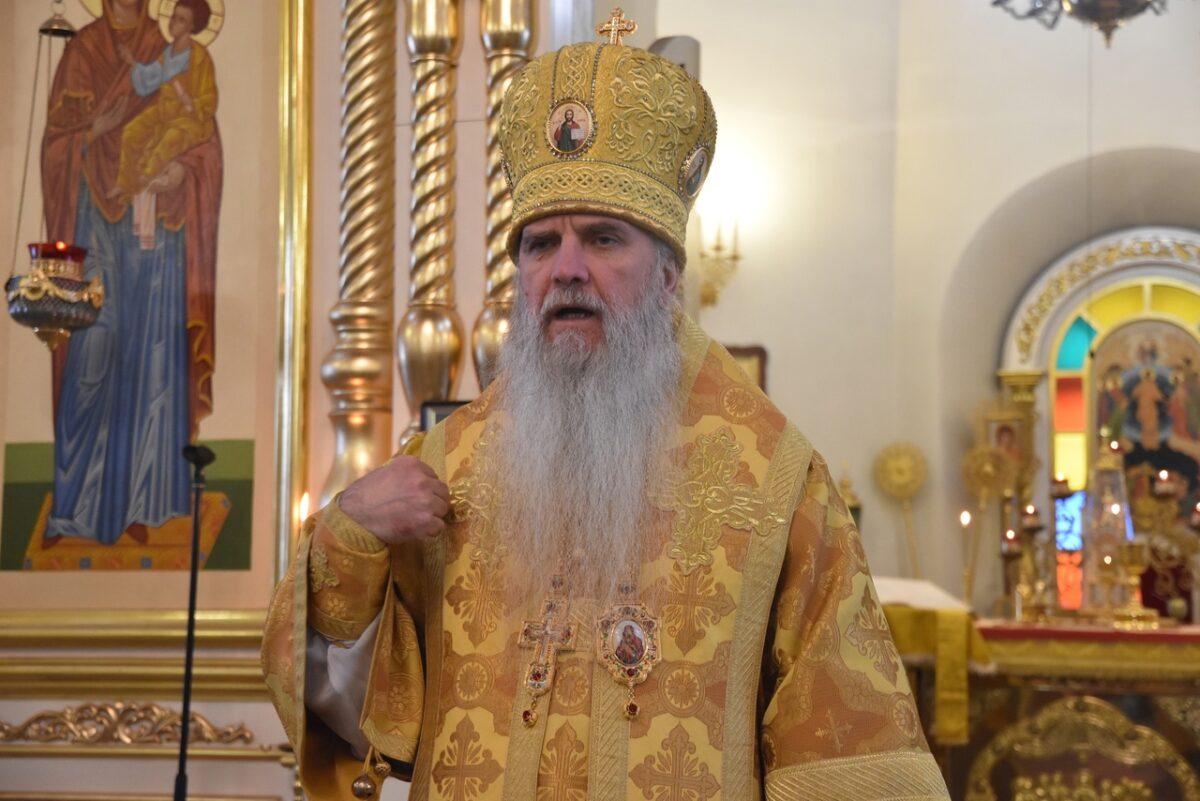 Преосвященнейший Мефодий возглавил Литургию в день памяти апостола Филиппа