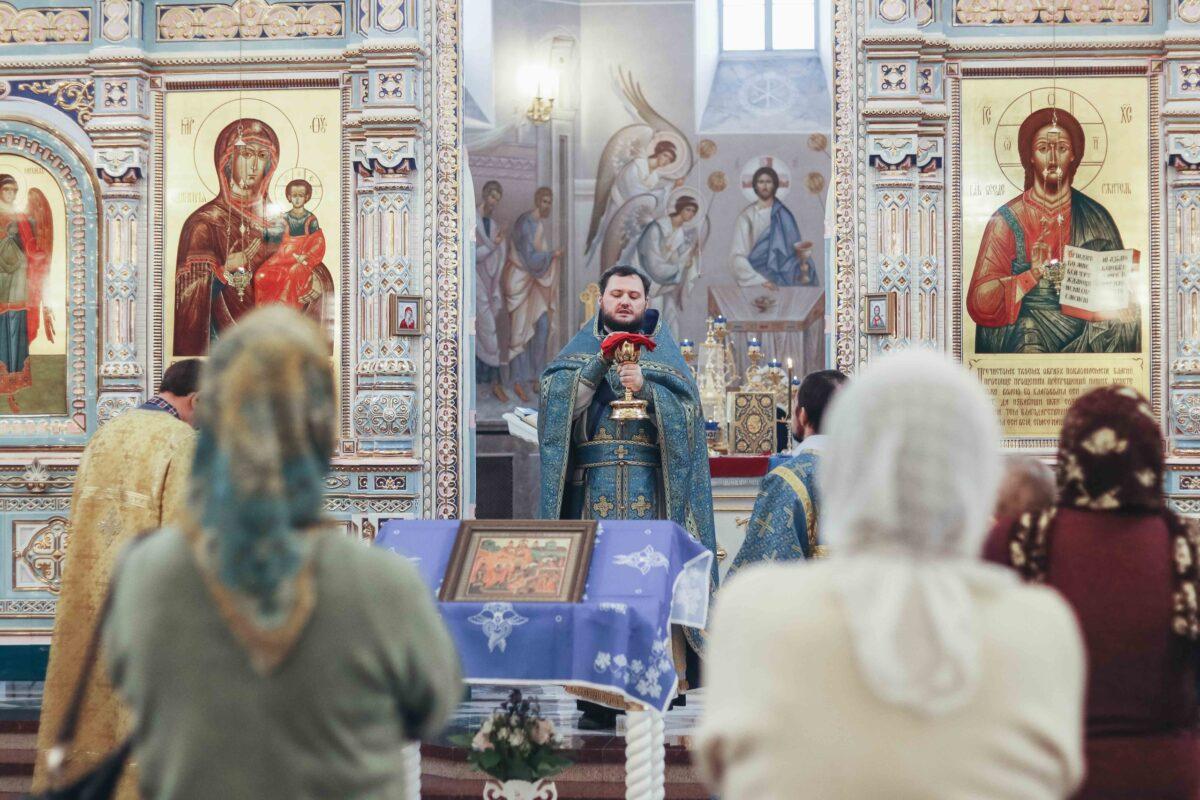 Праздник Введения во храм Пресвятой Богородицы в городе Заречном