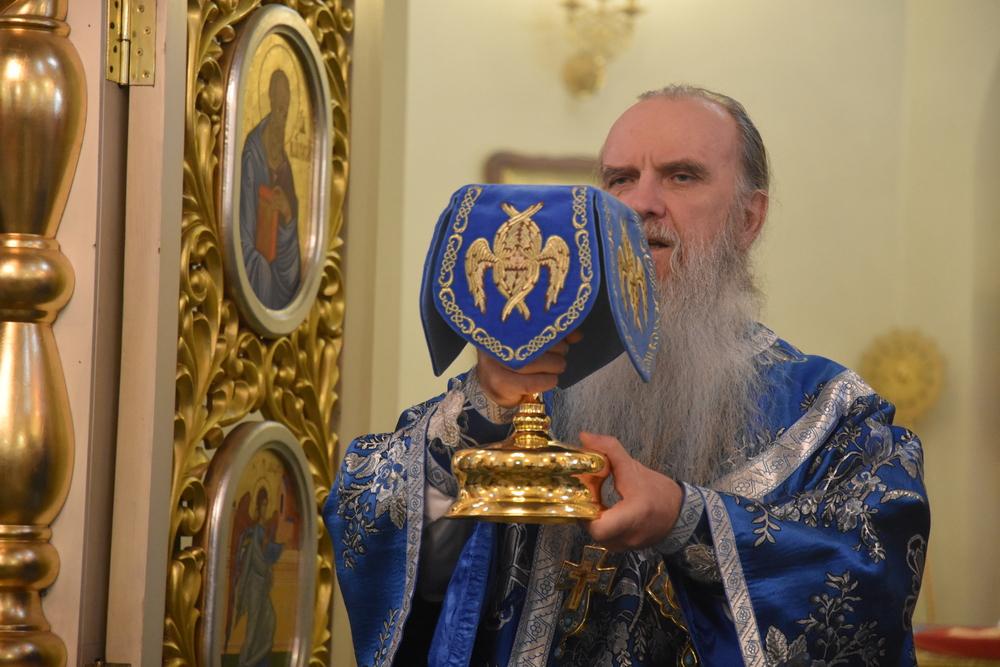 Епископ Мефодий возглавил Литургию в праздник иконы Божией Матери, именуемой «Знамение»