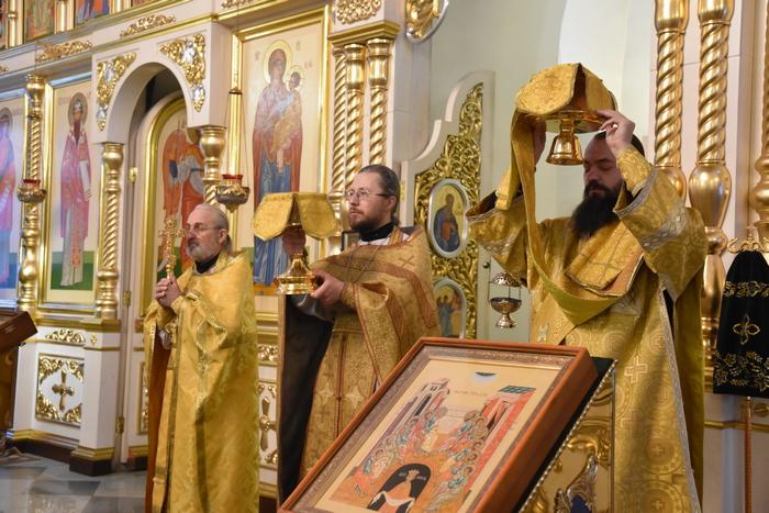 Божественная литургия в день памяти святителя Спиридона