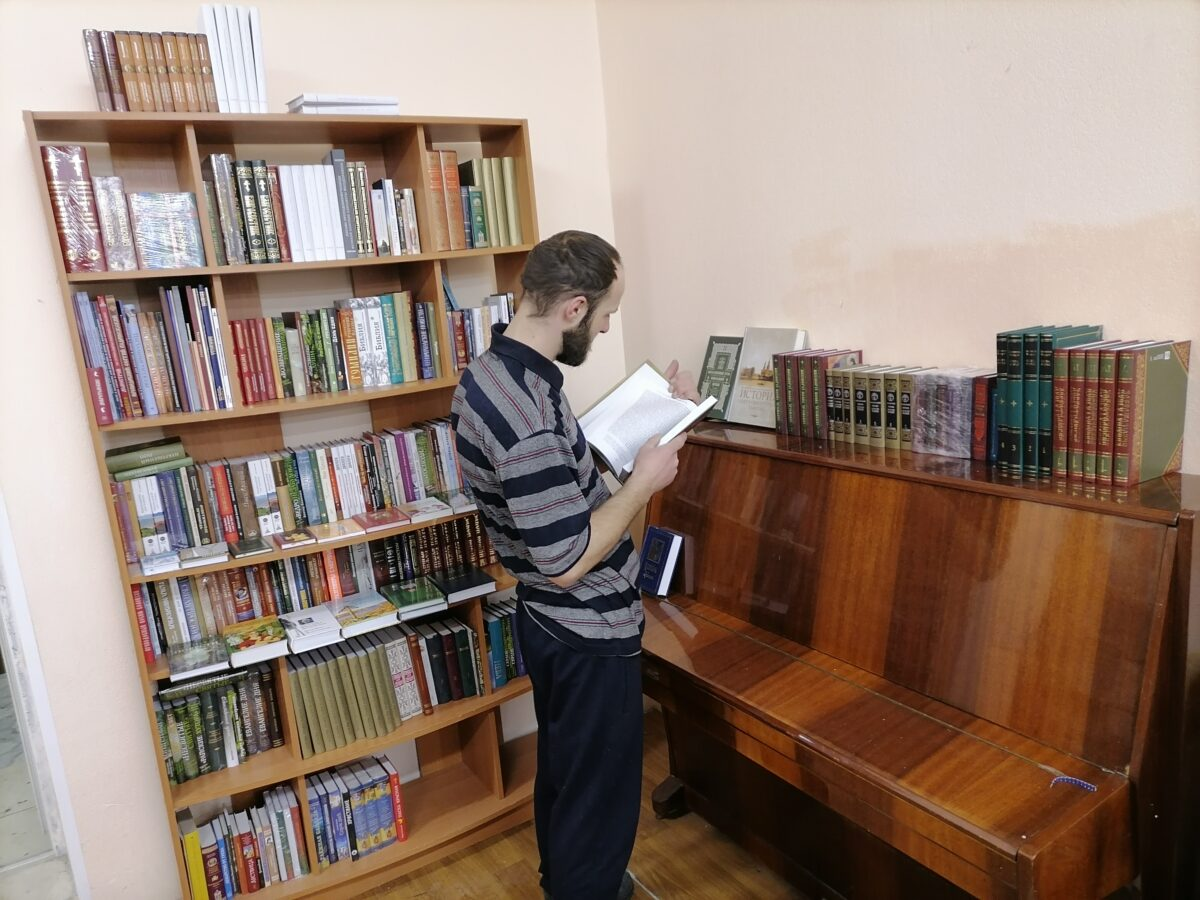 Открылась  библиотека