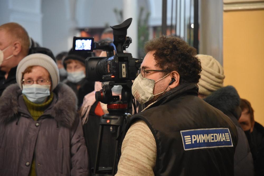 Телеканал РИМ ТВ покажет Пасхальный концерт в прямом эфире