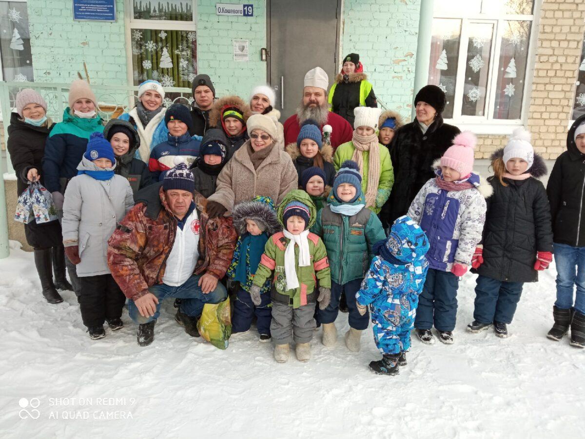Праздник  Рождества Христова в СРЦН города Каменска-Уральского