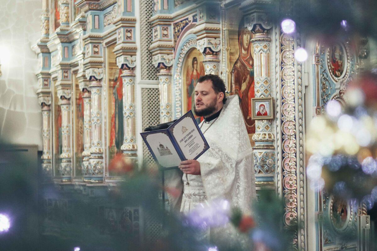 Рождество Христово в Зареченском Покровском храме