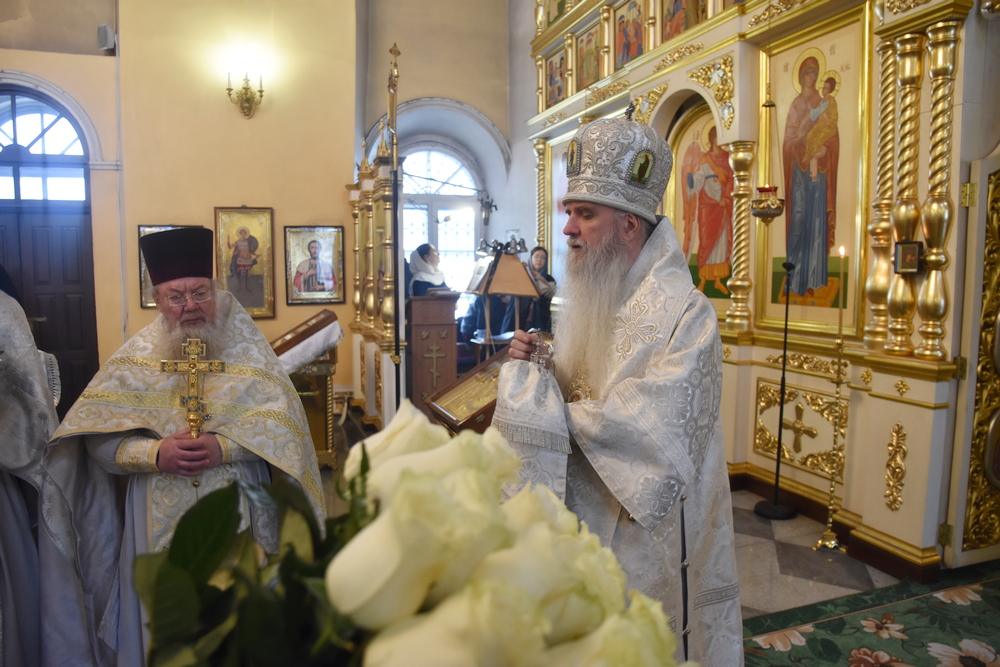 Поздравляем дорогого владыку Мефодия с 7-летием архиерейской хиротонии!