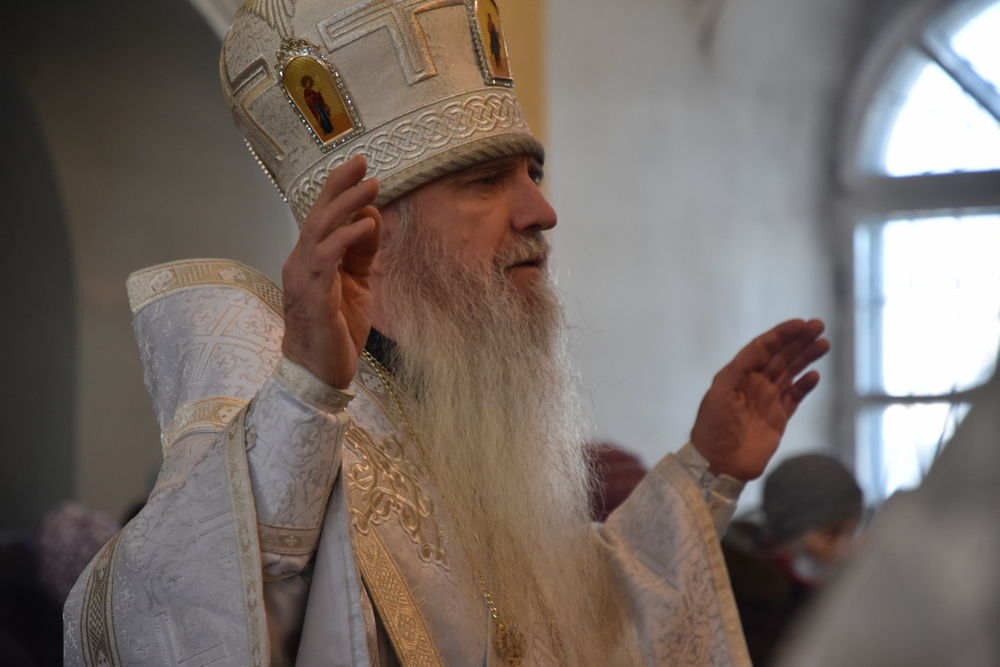 Владыка Мефодий возглавил Литургию в субботу мясопустную