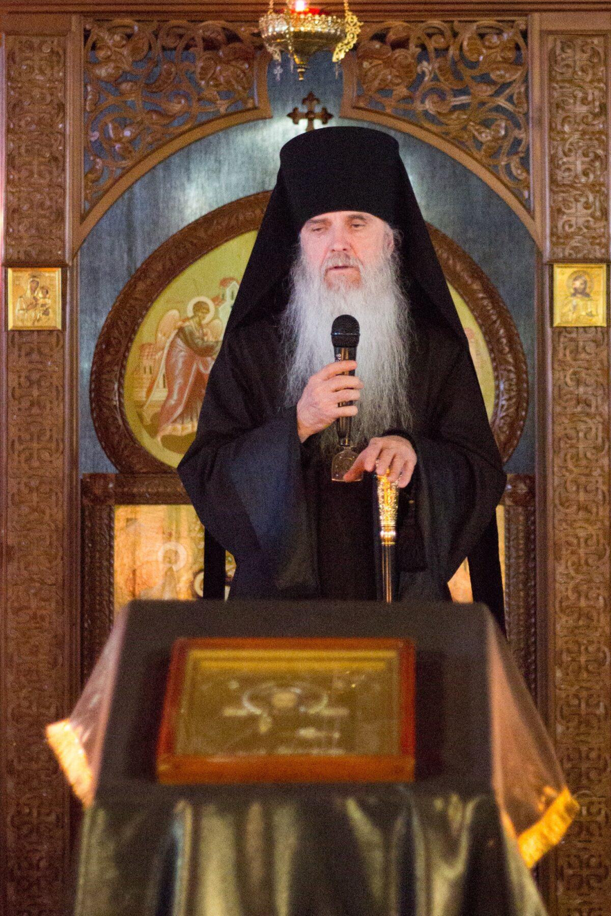 Епископ Мефодий завершил чтение покаянного канона прп. Андрея Критского
