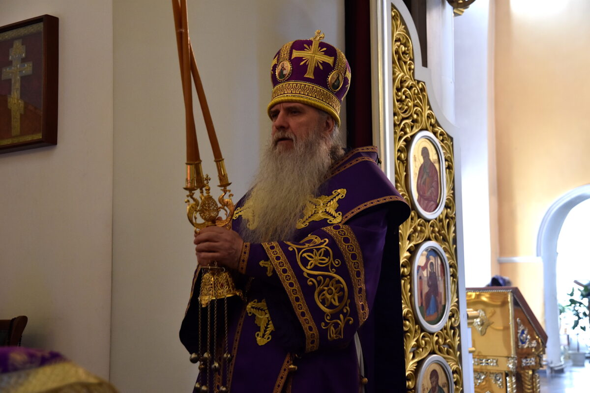 В день памяти сорока мучеников Севастийских епископ Мефодий совершил Литургию