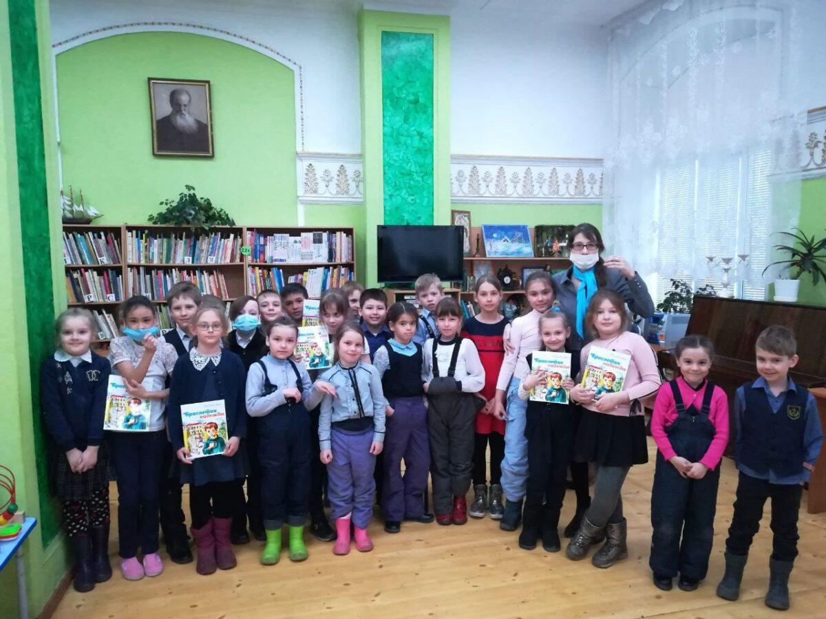 Встреча школьников с детским православным писателем Анной Кобелевой