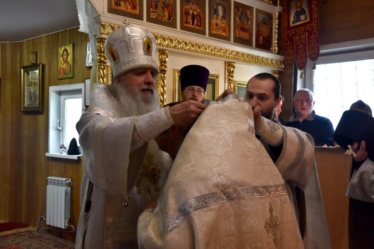Поздравляем иеромонаха Лазаря (Исакова) с правом ношения золотого креста