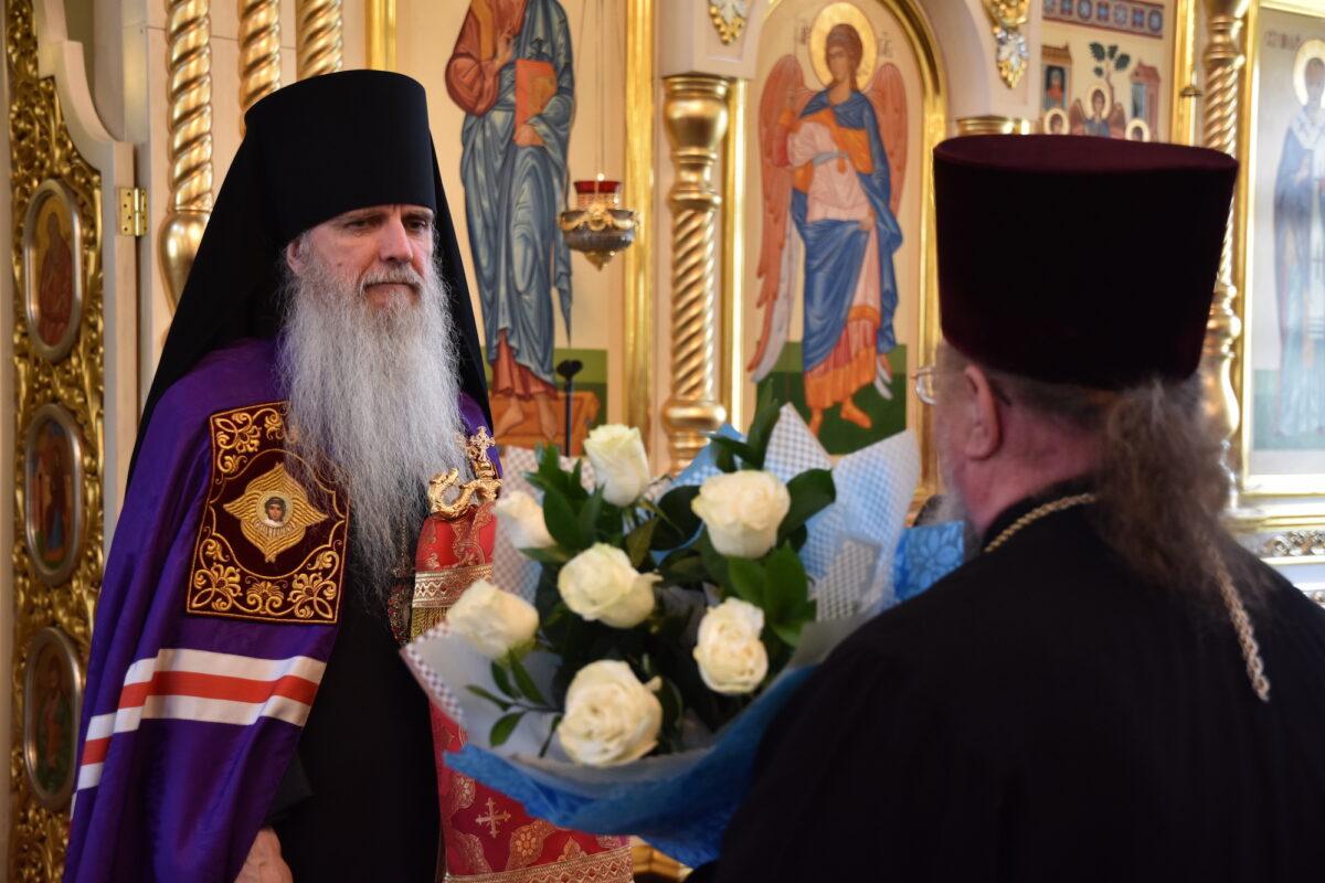Поздравляем епископа Мефодия с днём тезоименитства