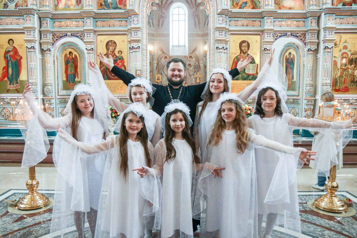 Пасхальное поздравление воскресной школы