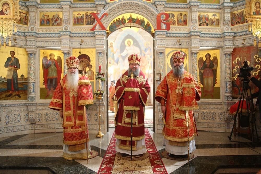 Сонм архиереев возглавит Божественную литургию в Каменской епархии