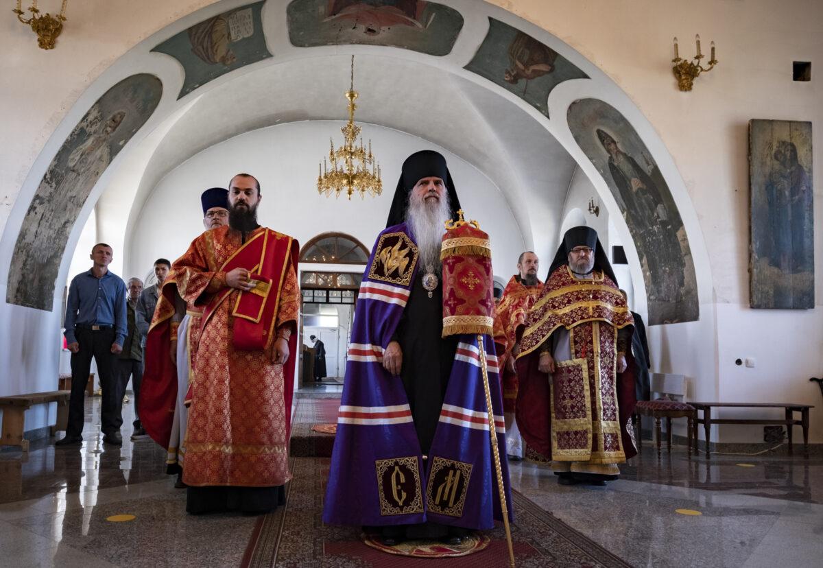 Архиерейская литургия состоялась в Малобрусянском храме пророка Илии