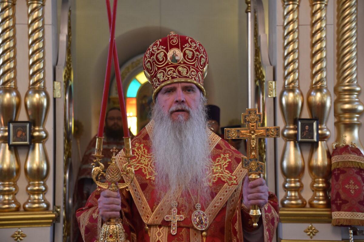 Епископ Мефодий совершил Литургию в неделю 6-ю по Пасхе