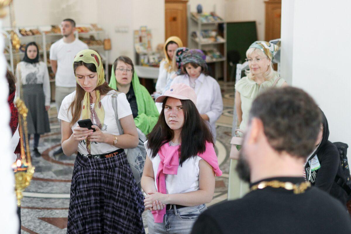 Цирковой пресс-тур в Покровском храме