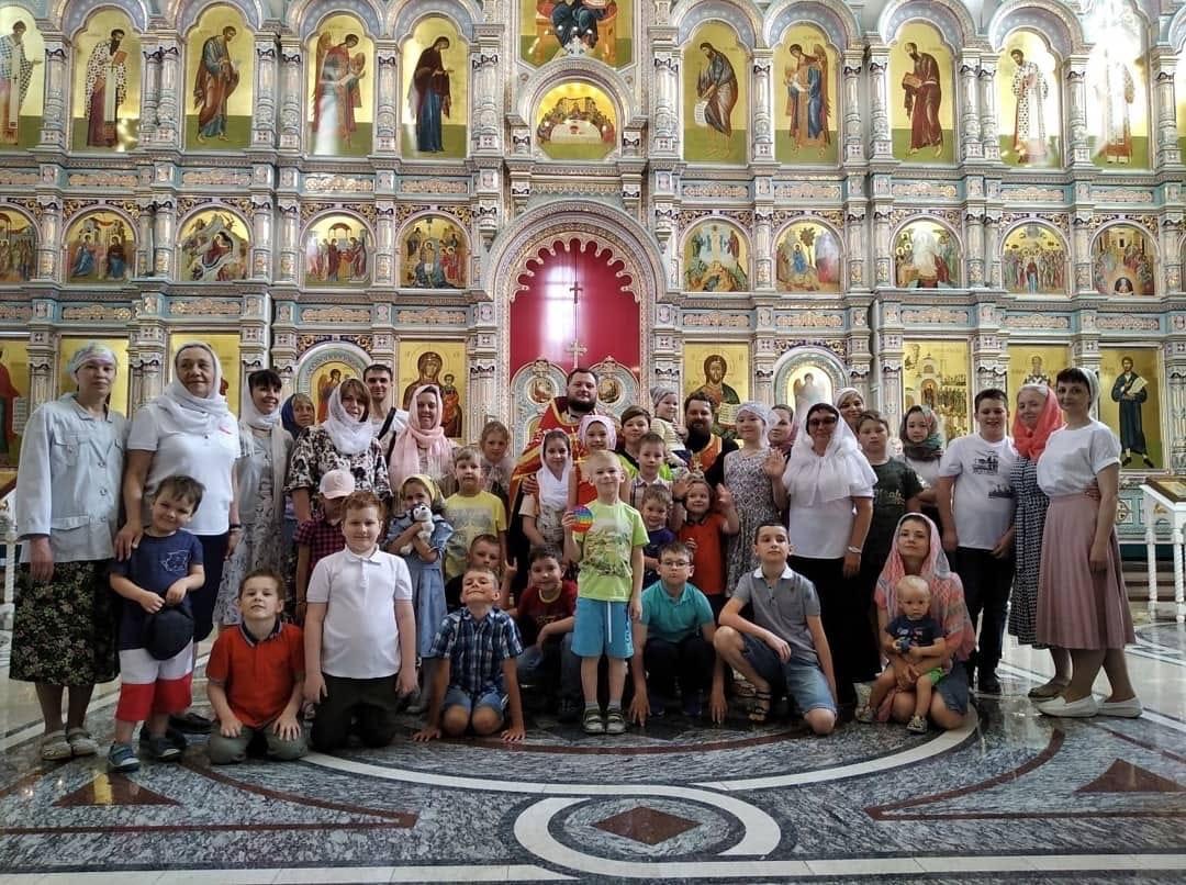 В воскресной школе Покровского храма города Заречного начались каникулы