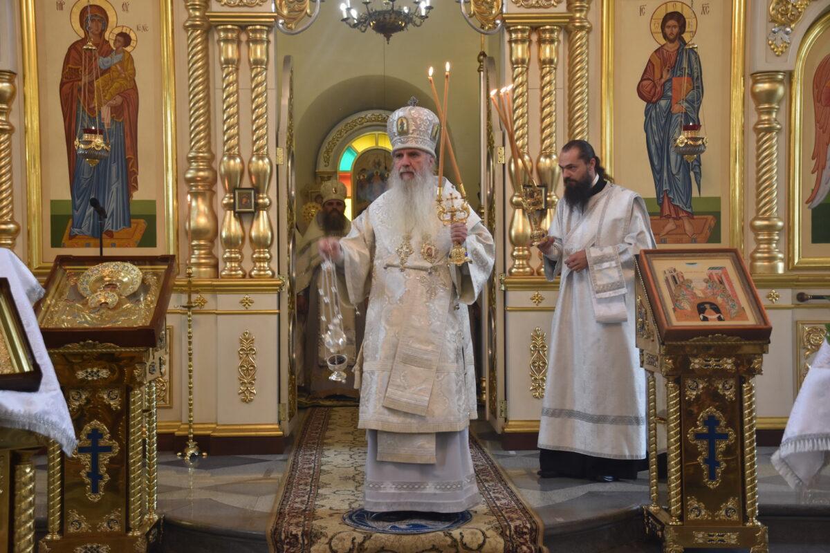 Епископ Каменский и Камышловский Мефодий отметил день тезоименитства (Репортаж ТК «Союз»)