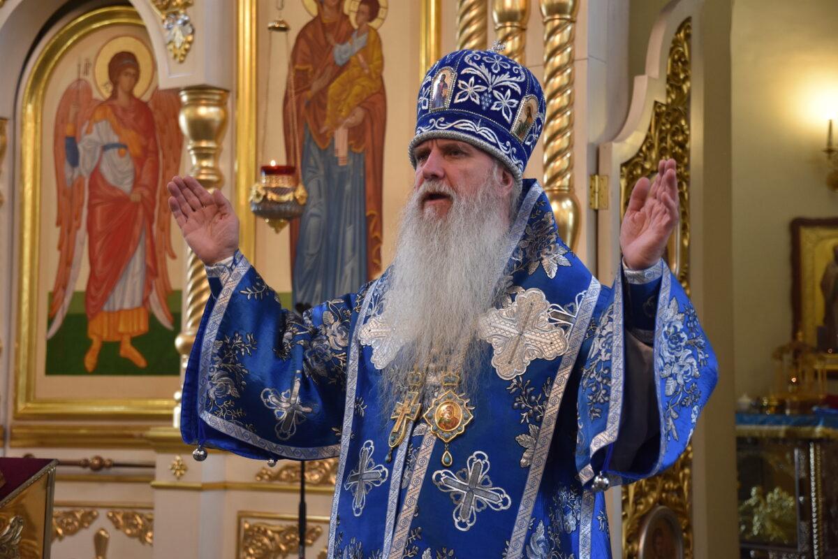 Владыка Мефодий совершил Литургию в Свято-Троицком кафедральном соборе