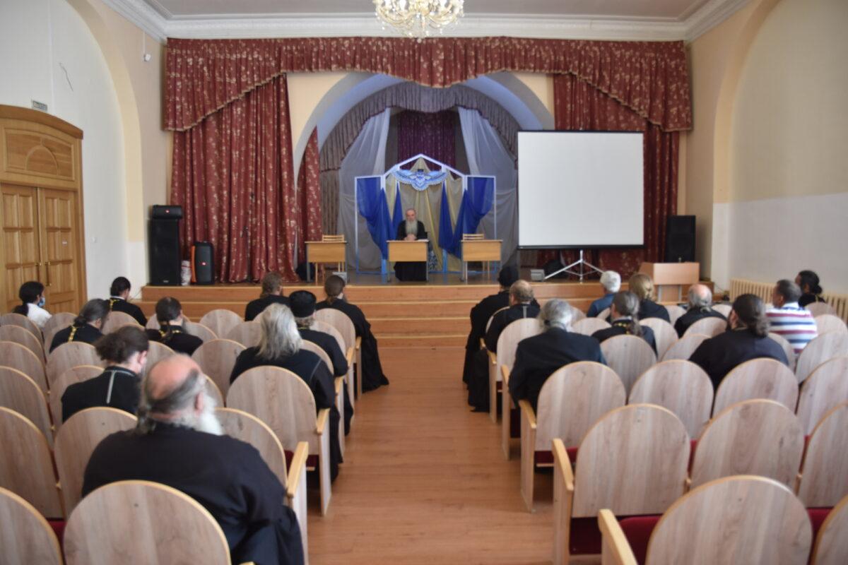 Состоялось пастырское совещание в Камышловском церковном округе