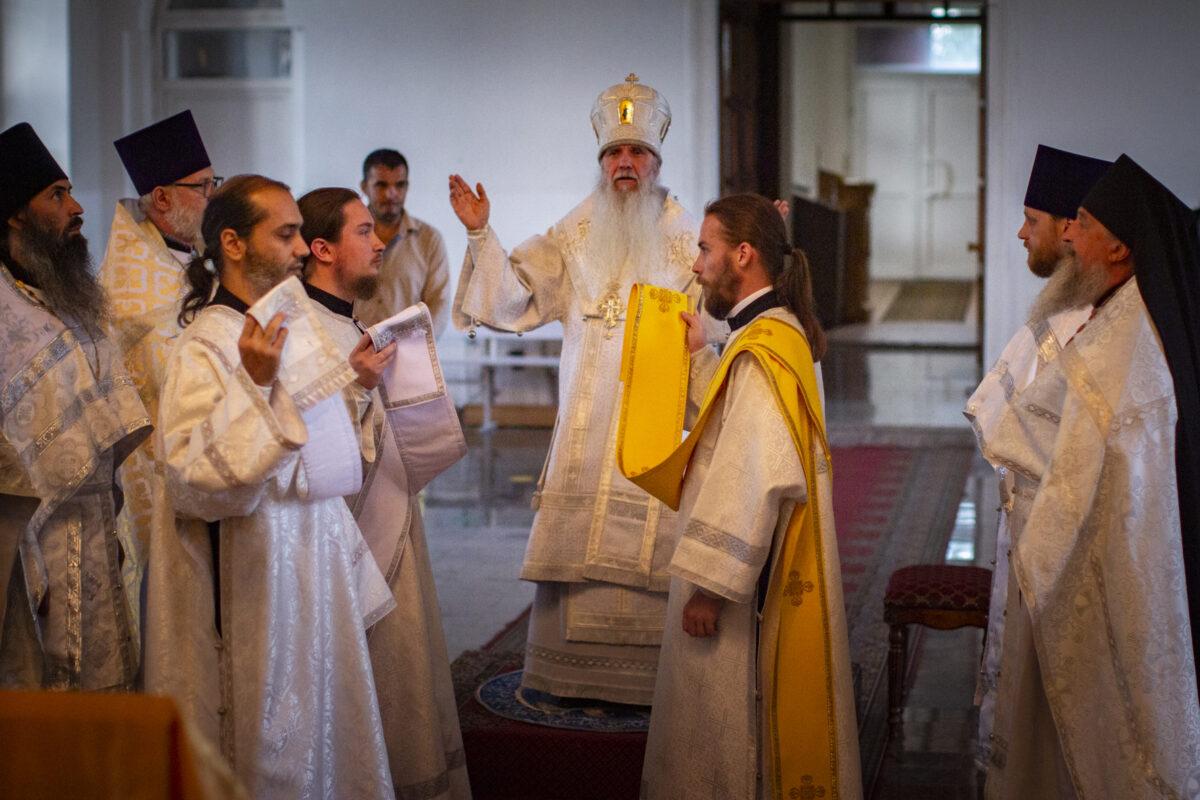 Епископ Мефодий совершил Литургию в Малобрусянском храме в честь пророка Божия Илии