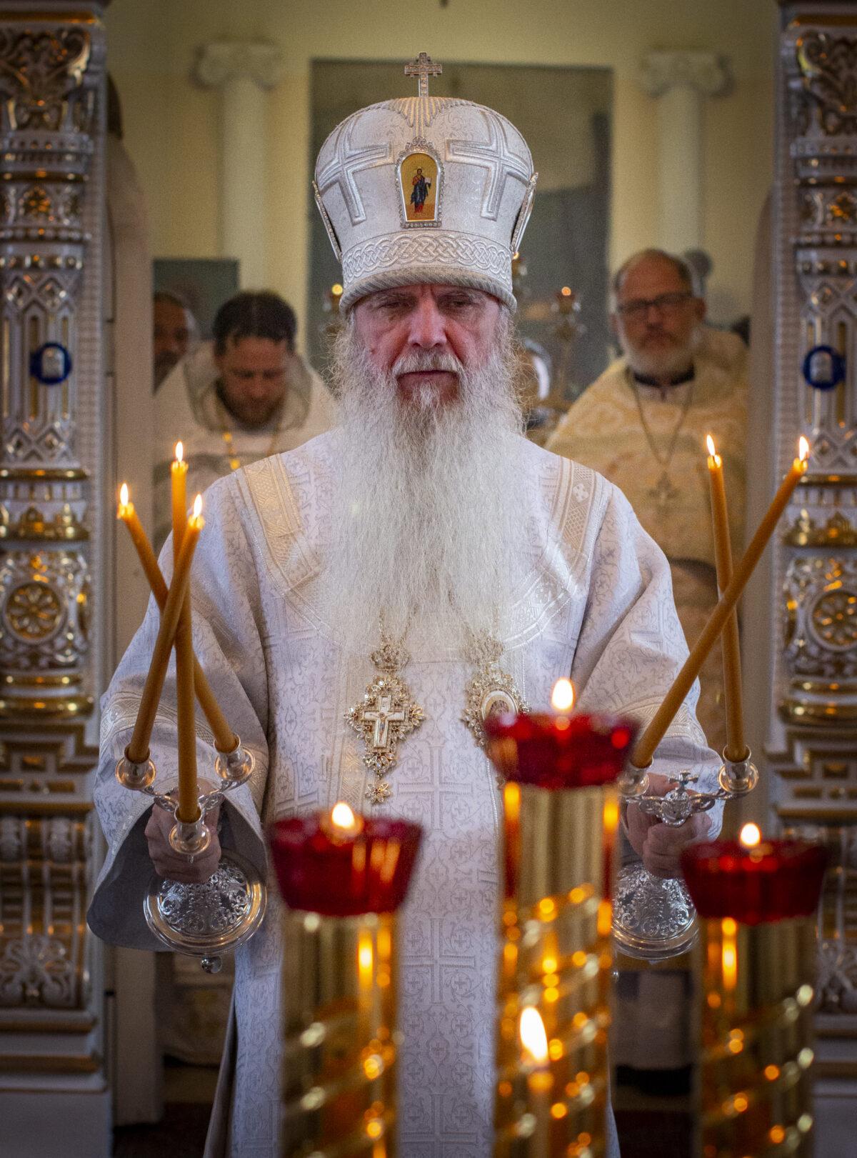 Соболезнование епископа Каменского и Камышловского Мефодия по случаю кончины протоиерея Сергия Циммера