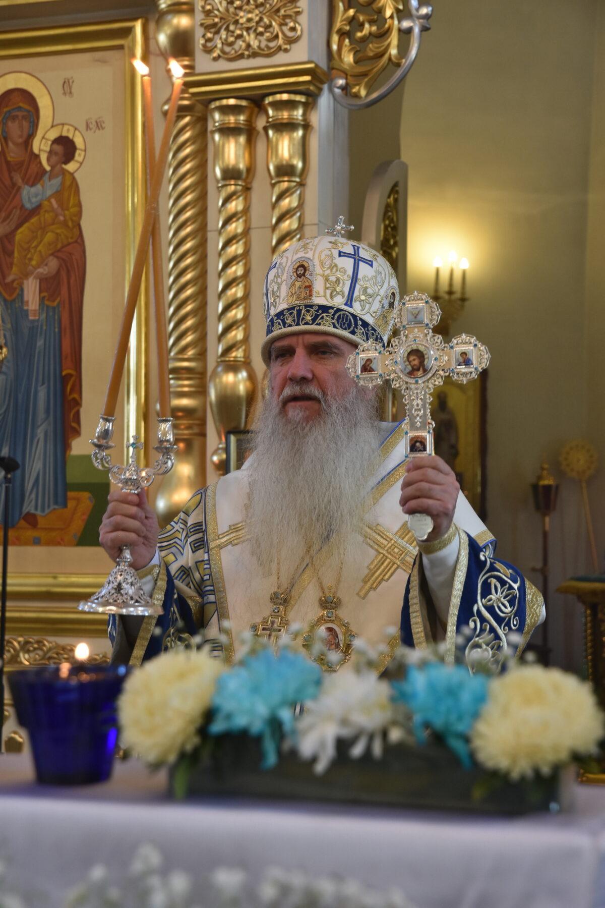 В неделю 10-ю по Пятидесятнице состоялась Архиерейская литургия