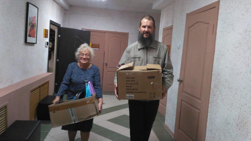 Русская Православная Церковь продолжает отправлять гуманитарную помощь на Донбасс