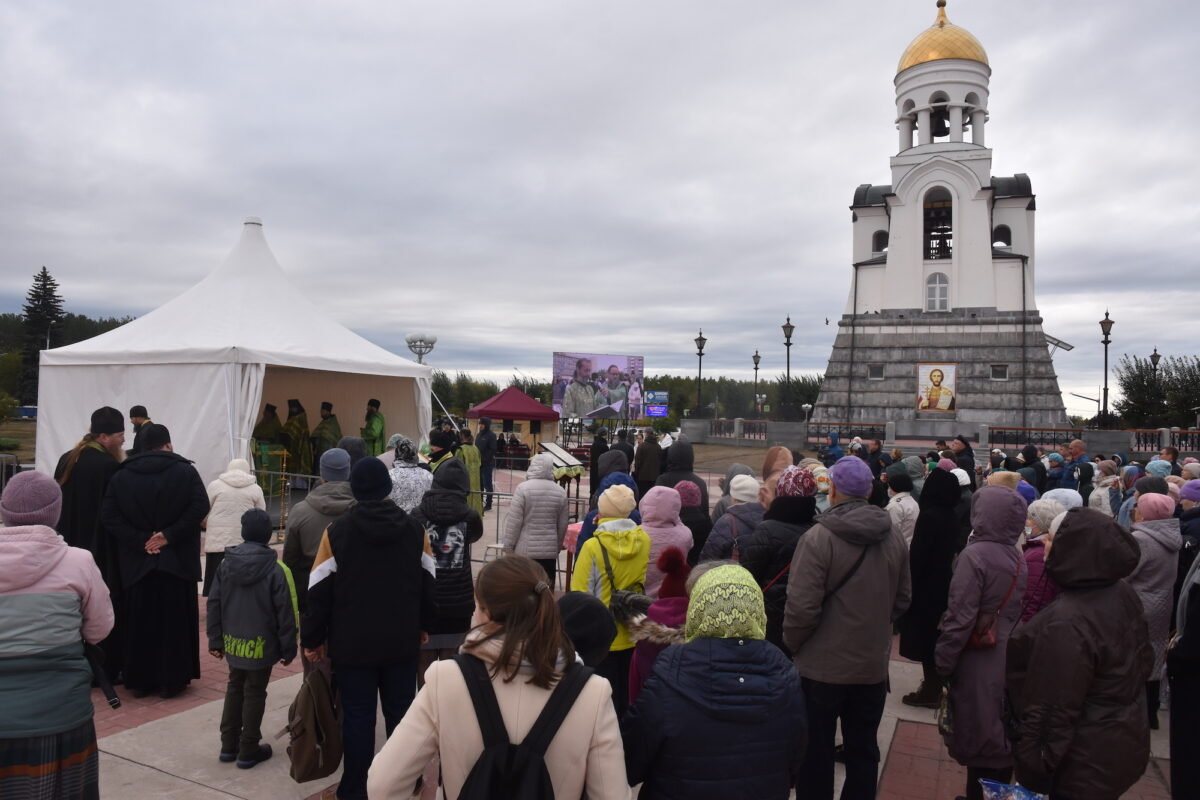 В день памяти св. Александра Невского состоялись праздничные мероприятия