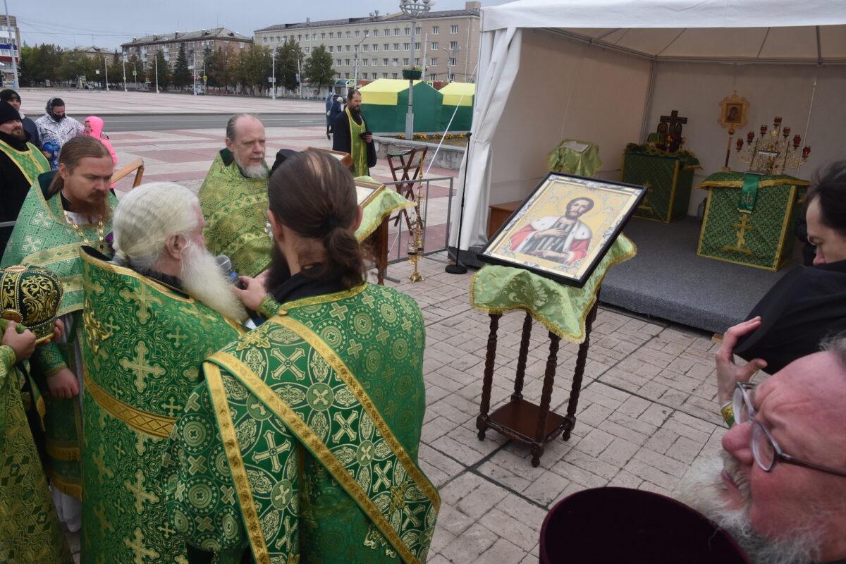 В день памяти св. князя Александра Невского в Каменске-Уральском состоялись праздничные мероприятия